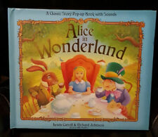 ALICE IN WONDERLAND - A Classic Pop-up Storybook with Sounds FREE Shipping!