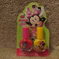 Disney Two Cute Nail Polishes - Minnie Mouse