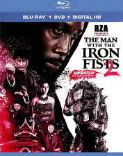 The Man with the Iron Fists 2 (Blu-ray/DVD, 2015, 2-Disc Set) - NEW!!