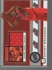 DANNY GRANGER 2005 PRESS PASS GAME0USED JERSET CARD #JC-DG  NEW MEXICO