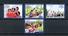 Fiji 2016 MNH Christmas in Fiji 4v Set Churches Carolling Stamps