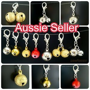 Clip on large jingle bells for Pet Dog Cat Collar Charm DIY decoration bell NEW