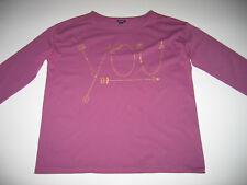 T-shirt fille KIABI avec motif doré en TBE - 12 ans