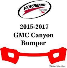 3M Scotchgard Paint Protection Film Clear Bra Kit 2015 2016 2017 GMC Canyon