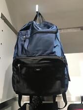NEW TUMI men women packable foldable Lightweight nylon weekend backpack bag Navy