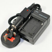 Mains/DC Battery Charger for Canon EOS M M2 M10 M50 100D EOS-M Rebel SL1 LP-E12