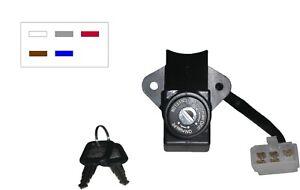 736792 Ignition Switch for Kawasaki ZR750/1100 Zephyr, etc... (5 wires) 592700H