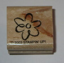 Flower Stampin' Up! Rubber Stamp Mini Retired Daisy Petals Garden Floral