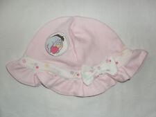 new disney eeyore pink baby sun hat.new baby,0-3,3-6,6-9,9-12,12-18 or 18-24mths