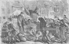 MILITARIA. Gt naval review-No Beds(), antique print, 1856