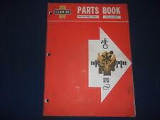 CUMMINS V6 (N)-140-B MODEL PHASE 4 DIESEL ENGINE PARTS MANUAL BOOK 967040