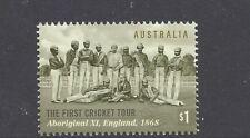 Australia 2018 1st Cricket Tour Stamp