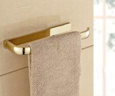 Gold Color Brass Bathroom Towel Rack Holder Round Towel Bar Hangers zba844
