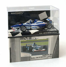 Minichamps 1:43 flechas A18 6th lugar British GP 1997 D. Hill Ref. 433 970101
