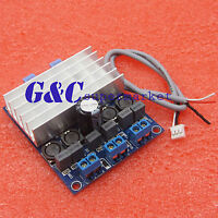 2 x 50W TDA7492 D Class High-Power Digital Amplifier Board AMP Board+ Radiator