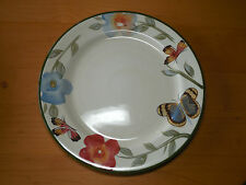 "Pfaltzgraff Studio BUTTERFLY BOTANICAL Dinner Plate 11"" 1 ea         1 available"