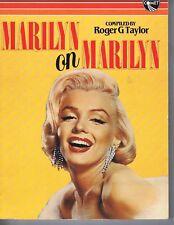 MARILYN MONROEMarilyn on Marilyn paperback book1985