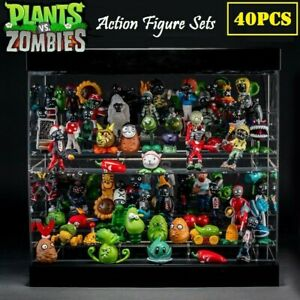 Plants vs Zombies I PVC 40pcs Action Figures Collection Mini Figures Kids Gift '