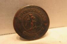 Civil War Token Knickerbocker Currency I.O.U. 1 Cent Pure Copper