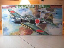 VINTAGE BANDAI 1/24 MITSUBISHI A6M5c TYPE 52 ZERO FIGHTER   #0034043