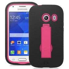 Samsung Galaxy Ace Style S765C Hybrid S Armor Case w/Stand Skin Cover