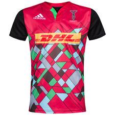Harlequins Rugby Union adidas Kinder Trikot Jersey Rugbyshirt Shirt S21120 neu