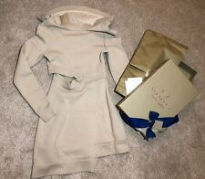 Burberry Runway Collection Cut-out Sweatshirt Dress Size XS UK 4 100% Authentic!