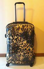 """Heys Fashion Exotic Leopard 21"""" Spinner Luggage w/TSA lock"""