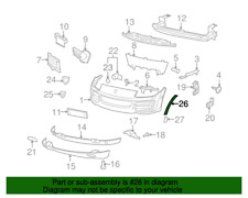 PORSCHE OEM 08-10 Cayenne Interior-Rear-Support 95555122501