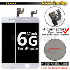 For iPhone 6S 6 Plus LCD Digitizer Touch Screen Replacement With Button & Camera