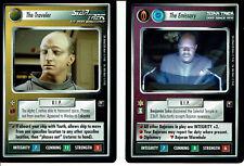Star Trek Ccg Promo Cartes The Émissaire et La Voyageur