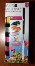 LIMITED EDITION - CND Additives SPRINGTIME SPARKLE COLLECTION 5 Colors FREE SPAT