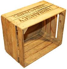 """1 pieza Caja de fruta johnanna"""" TS """"Mercancía B vino con hermoso inscripción"""
