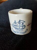 Vintage Early American OLD SPICE Ship Friendship Shaving Mug