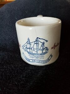 Vintage Early American OLD SPICE Ship Friendship Shaving Mug