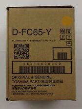 Toshiba DFC65Y Yellow Developer 6LJ10690000 eStudio5540C/5560C/6540C/6550C/6570C