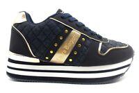 Scarpe da donna Laura Biagiotti 6404 sneakers casual sportive platform