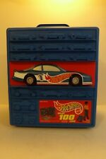 1997 Mattel Hot Wheels 100 Car Rolling Storage Suitcase Wheeled Carrying Case