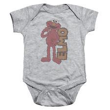 SESAME STREET Elmo Retro Vintage Snapsuit Baby Romper 6 - 24M