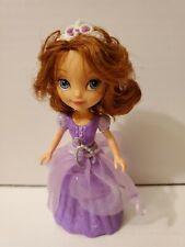 Sofia the First MAGIC DANCING SOFIA Toy Figure -has tiara & necklace