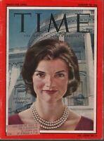 Time Magazine January 20 1061 Jacqueline Jackie John F Kennedy JFK 073019AME