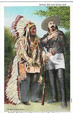 BUFFALO BILL & SITTING BULL, LOOKOUT MOUNTAIN COLORADO 1939 CO.