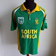 SOUTH AFRICA 1999 WORLD CUP CRICKET SHIRT ADMIRAL JERSEY SIZE ADULT XL