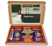 Retro Camera Photography 24 Bar Cadbury Chocolate Hamper Personalised Gift Box