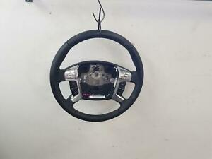 FORD MONDEO MA MB MC BLACK LEATHER STEERING WHEEL 10/07-12/14