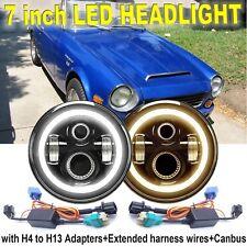 Datsun 1600 180B 200B 520 620 720 260C 240K Skyline LED Halo Angel Eye Headlight