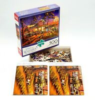 Buffalo Games Small Town Celebration 500 PC Jigsaw Puzzle 03690 Veterans Day
