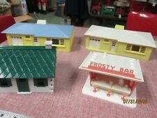 Lot of 4   Plasticville  Train Layout Buildings