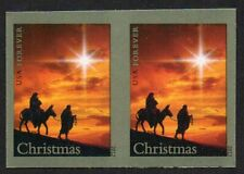4711b Holy Family imperf no die cuts pair MNH