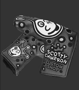 Scotty Cameron - Headcover - Jackpot Johnny - Charcoal - Grey - Standard